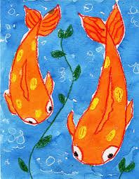 How to Draw a Koi Fish · Art Projects for Kids
